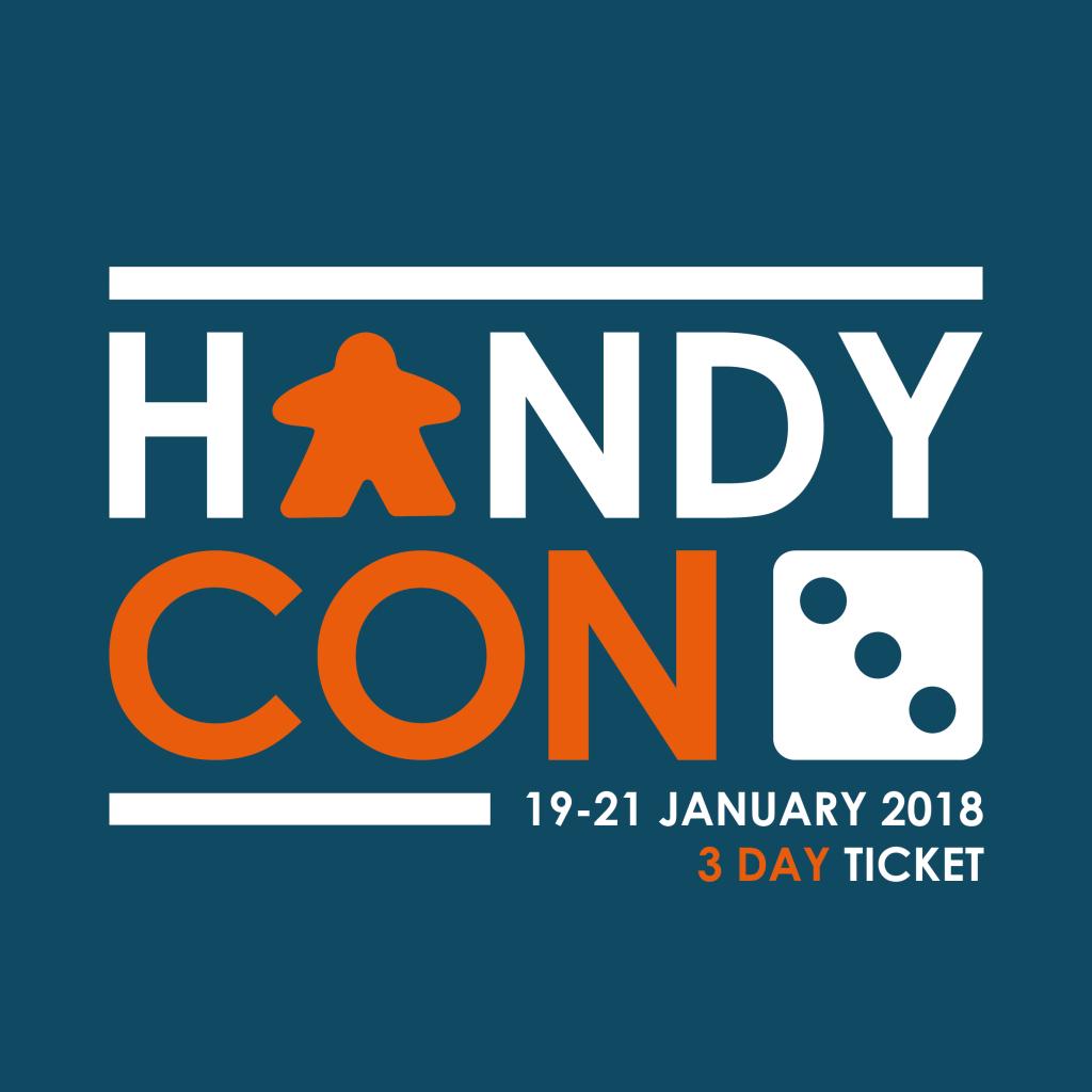 HandyCon 3 3 Day Ticket