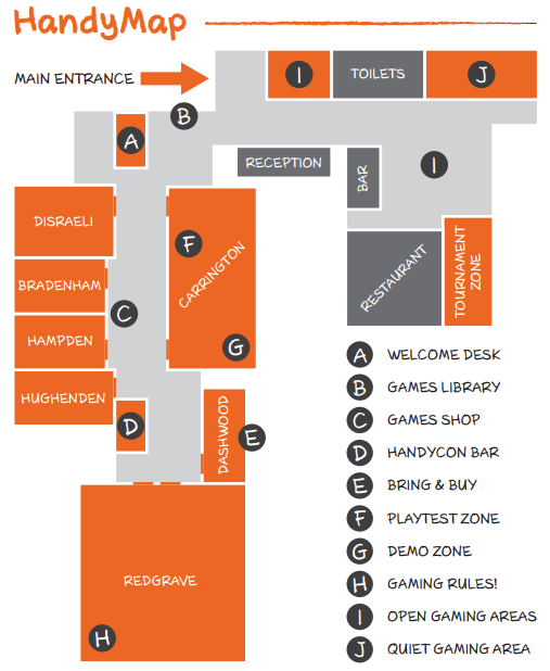 HandyCon 3 Floorplan
