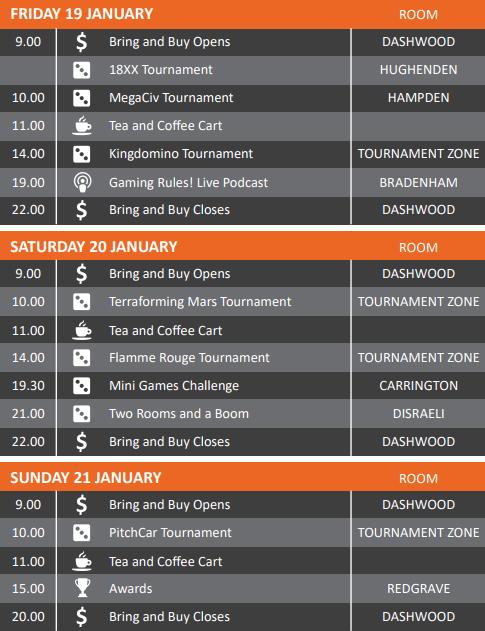 HandyCon 3 Schedule
