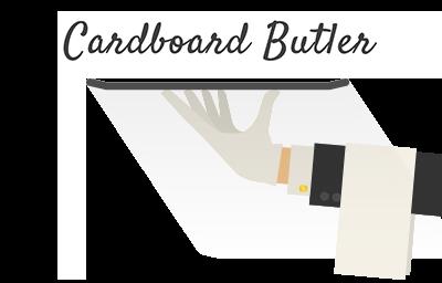 Cardboard Butler