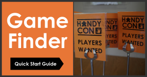Game Finder Quick Start Guide